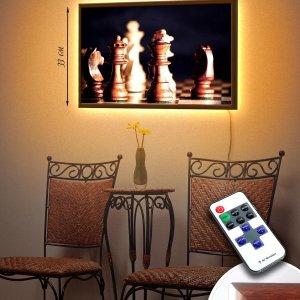 "LED – картина ""Шахматы"""