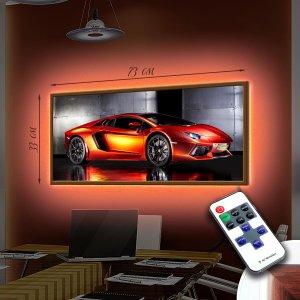 """LED – картина """"Спорт авто"""""""