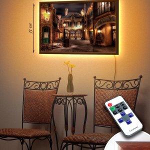 "LED – картина ""Тихий дворик"""
