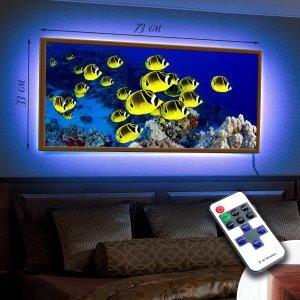 """LED – картина """"Желтые рыбки"""""""