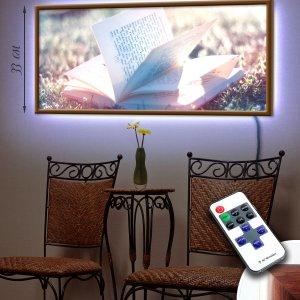 """LED – картина """"Книга"""""""