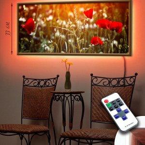 "LED – картина ""Маковое поле"""