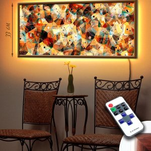 """LED – картина """"Мозайка"""""""