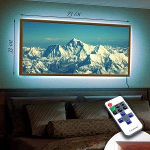 "LED – картина ""Вершины гор"""