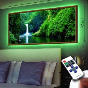 """LED – картина """"Водопад"""""""