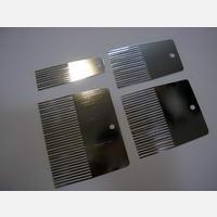 Набор гребенок металлических (код 06751)