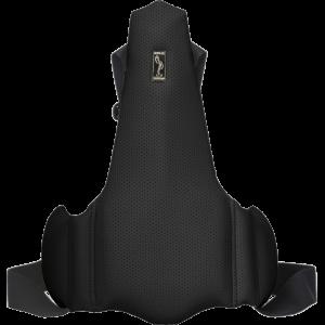 Ортопедическая накладка на сиденье водителя Solo 1701 Черная