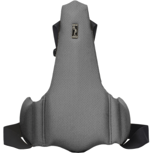 Ортопедическая накладка на сиденье водителя Solo 1702 Серая