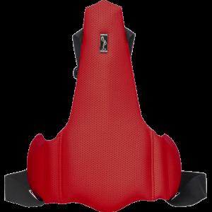 Ортопедическая накладка на сиденье водителя Solo 1704 Красная