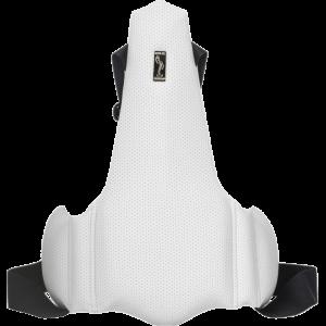 Ортопедическая накладка на сиденье водителя Solo 1706 Белая