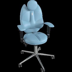 Ортопедический стул Trio 1404 Светло - синее для школьника