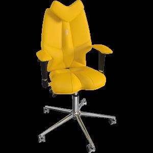 Ортопедическое детское кресло Fly 1302 Желтое