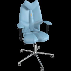Ортопедическое детское кресло Fly 1303 Светло - синее