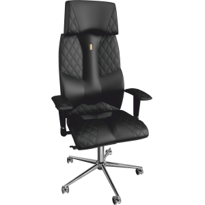 Ортопедическое кресло Business 0602 Черное