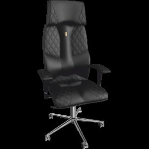 Ортопедичне крісло Business 0602 Чорне