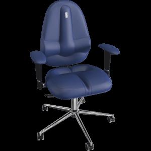 Ортопедическое кресло Classic 1204 Синее