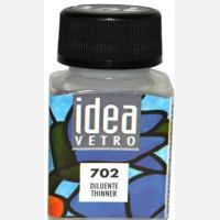 Разбавитель для витражных красок по стеклу «Idea Vetro»