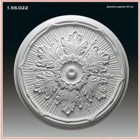Розетка потолочная 1.56.022 полиуретановая