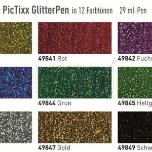 Универсальный контур Pic Tixx Glitter Фиолетовый (код KR-49852)