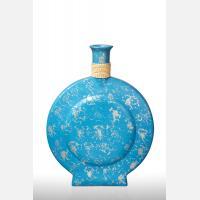 Ваза декоративная CA504 голубая