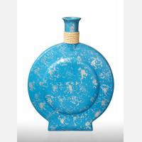 Ваза декоративная CA511 голубая
